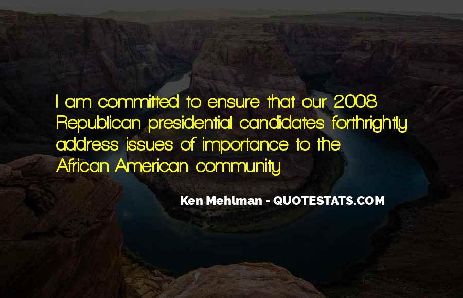 Ken Mehlman Quotes #28476