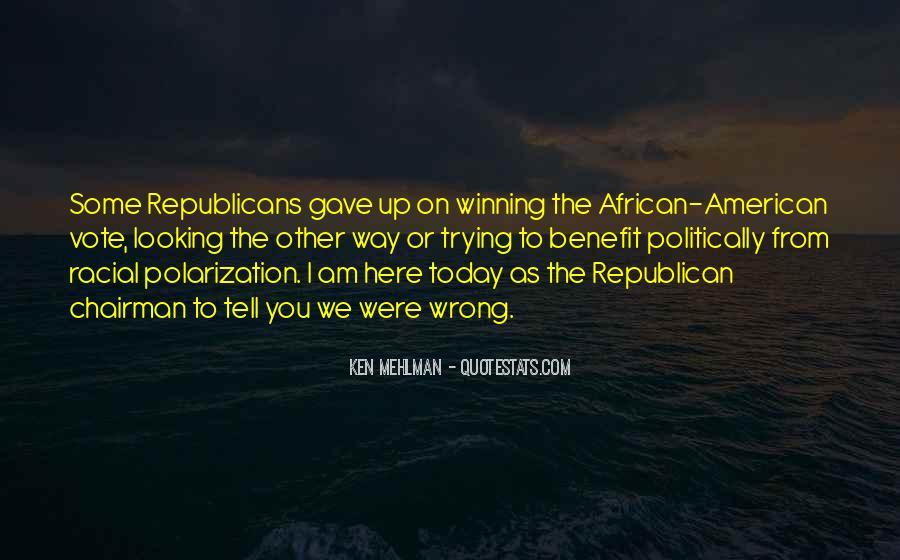 Ken Mehlman Quotes #634744