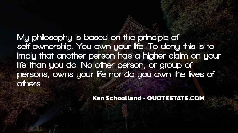 Ken Schoolland Quotes #1474852