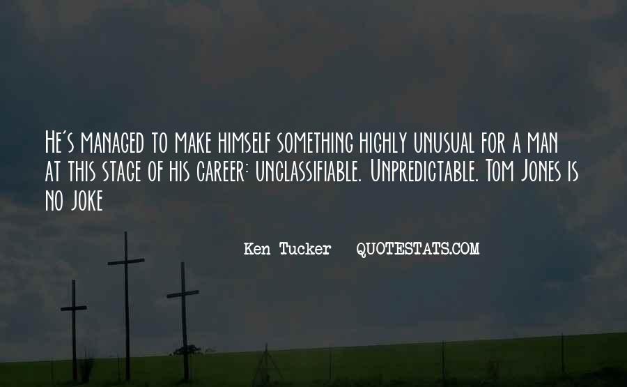 Ken Tucker Quotes #1019835