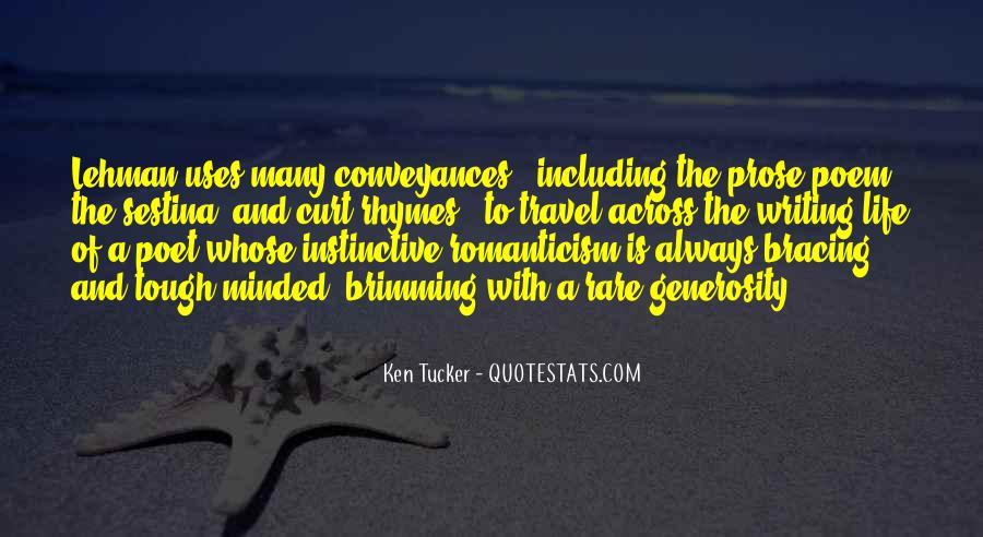 Ken Tucker Quotes #1672332