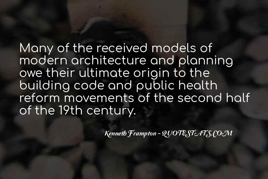Kenneth Frampton Quotes #862372