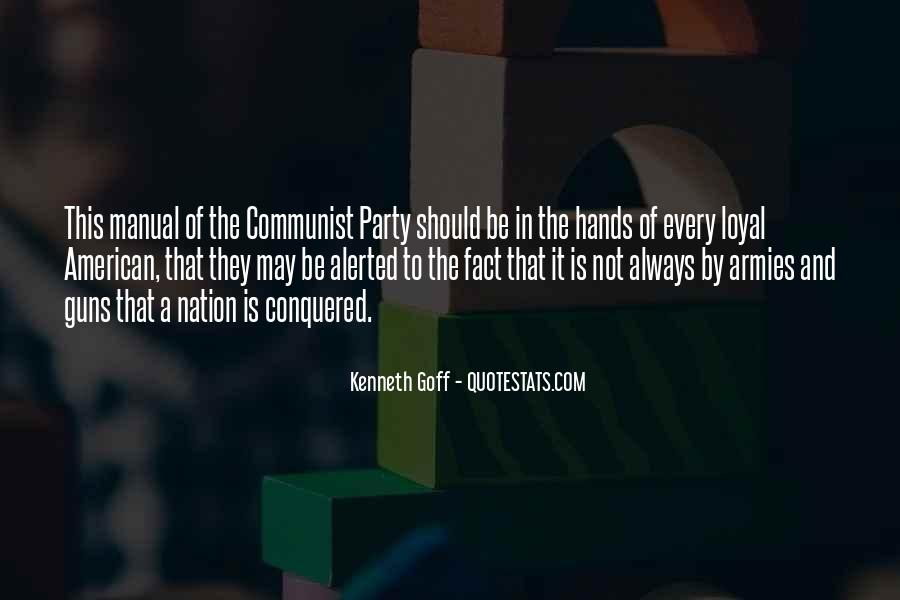 Kenneth Goff Quotes #1606542