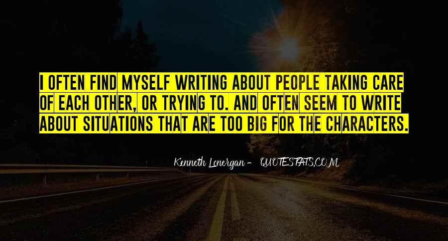 Kenneth Lonergan Quotes #1269400
