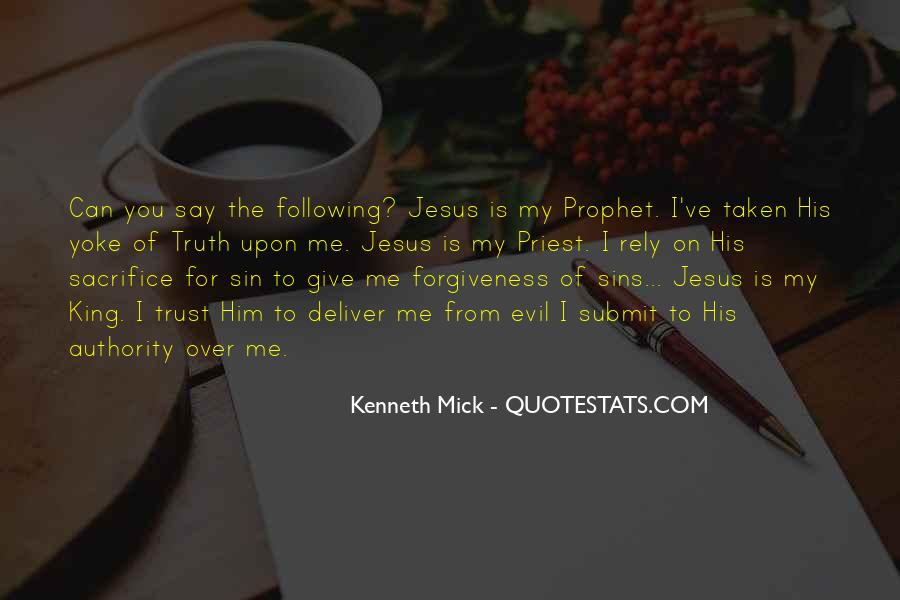 Kenneth Mick Quotes #487105
