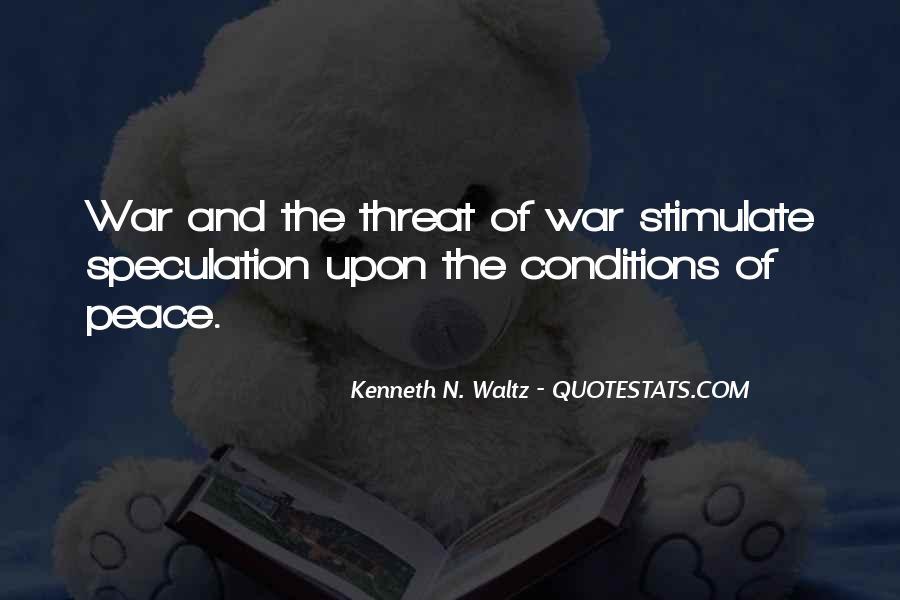 Kenneth N. Waltz Quotes #1684862