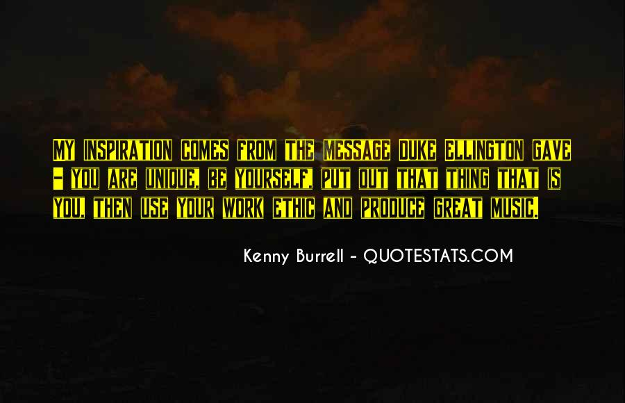 Kenny Burrell Quotes #761562