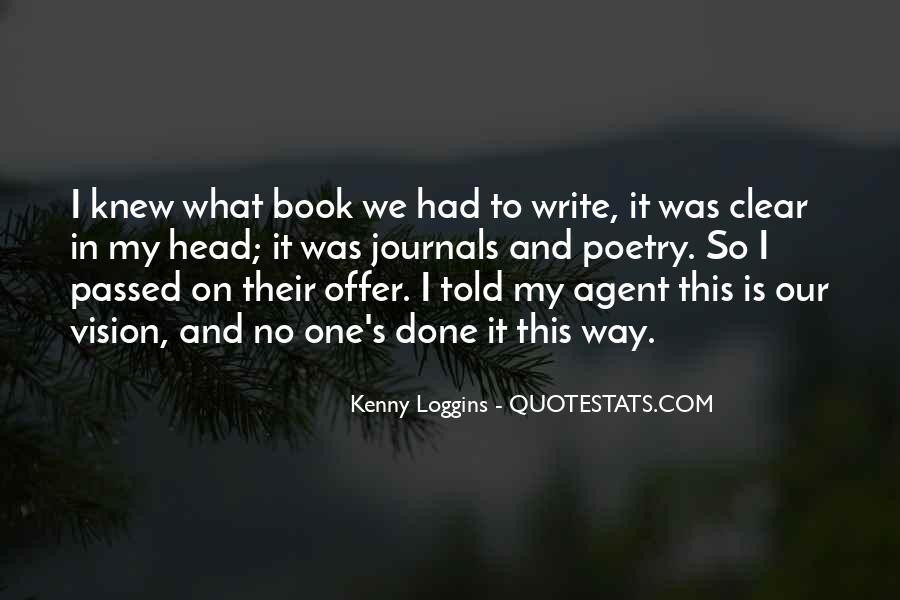 Kenny Loggins Quotes #1593900