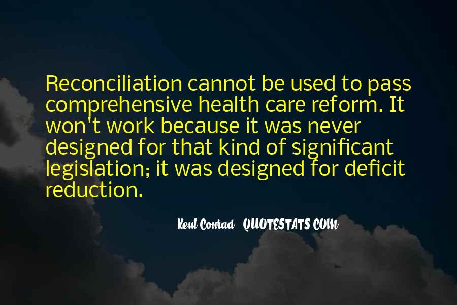 Kent Conrad Quotes #852609