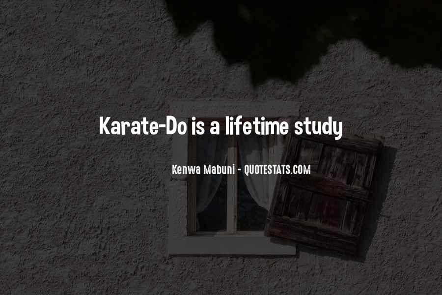 Kenwa Mabuni Quotes #1619200
