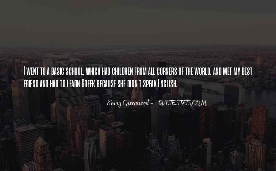 Kerry Greenwood Quotes #1061832