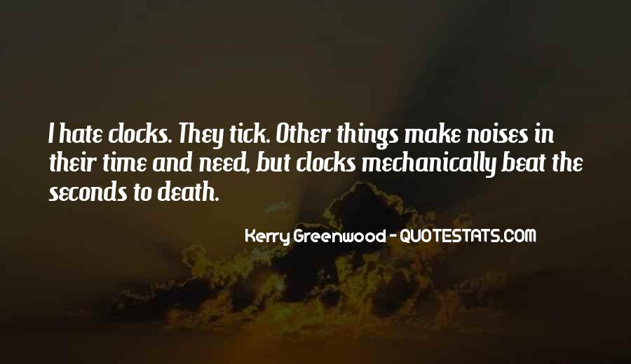 Kerry Greenwood Quotes #1184330