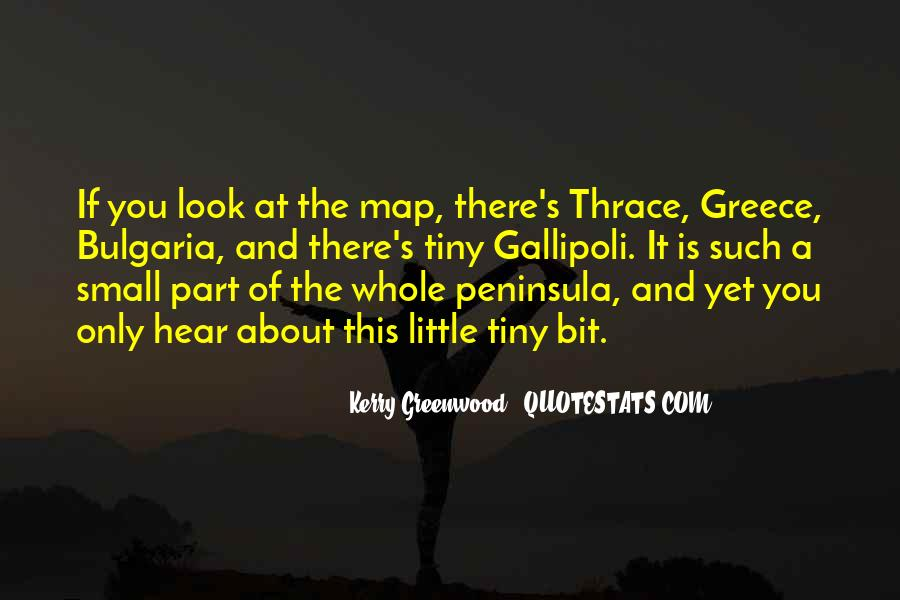 Kerry Greenwood Quotes #1191461