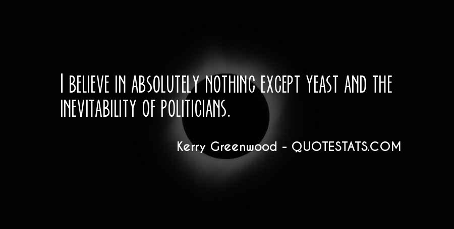 Kerry Greenwood Quotes #1279662