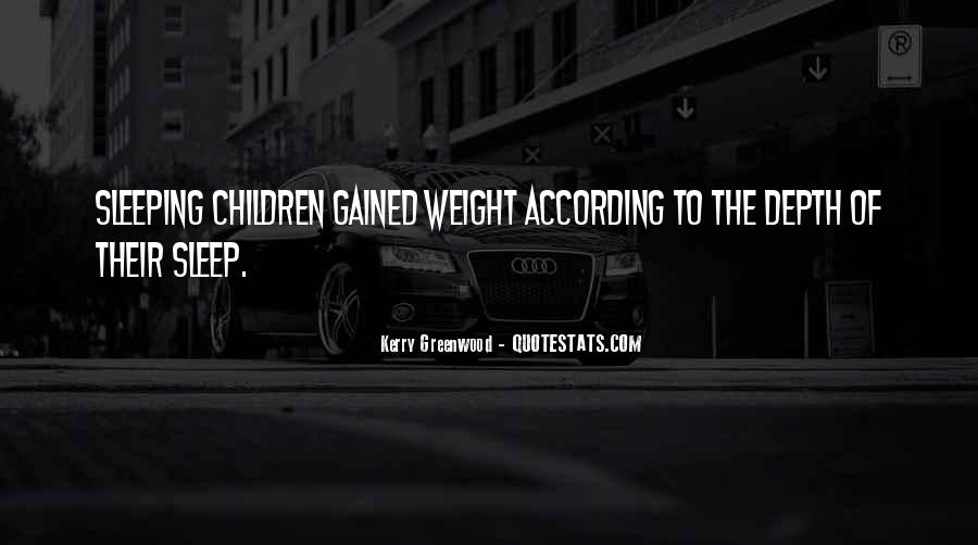 Kerry Greenwood Quotes #650786