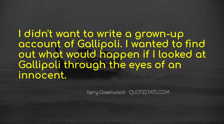 Kerry Greenwood Quotes #757035
