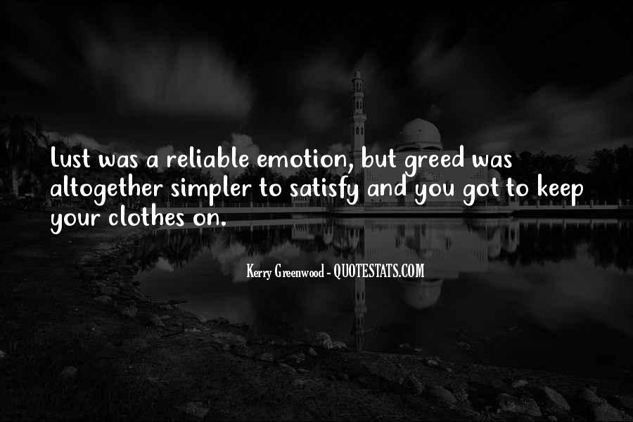 Kerry Greenwood Quotes #795144
