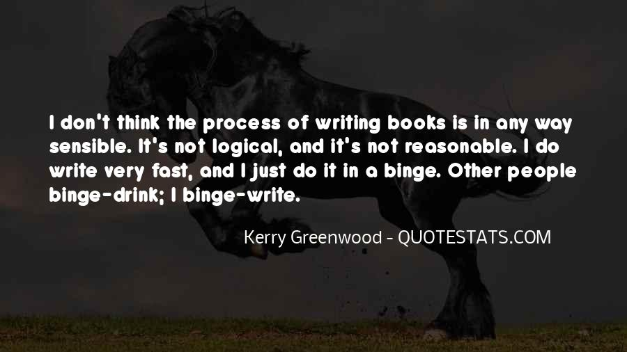 Kerry Greenwood Quotes #879150