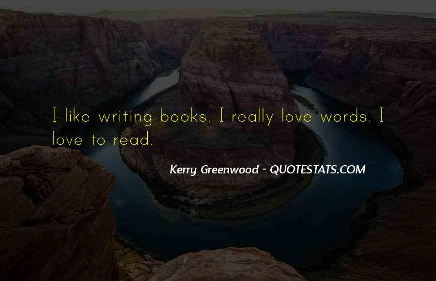 Kerry Greenwood Quotes #894141