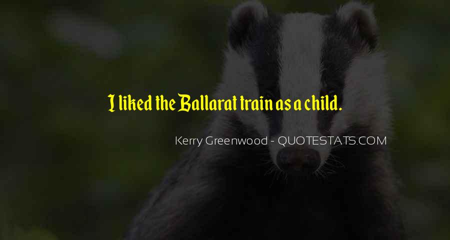 Kerry Greenwood Quotes #903979