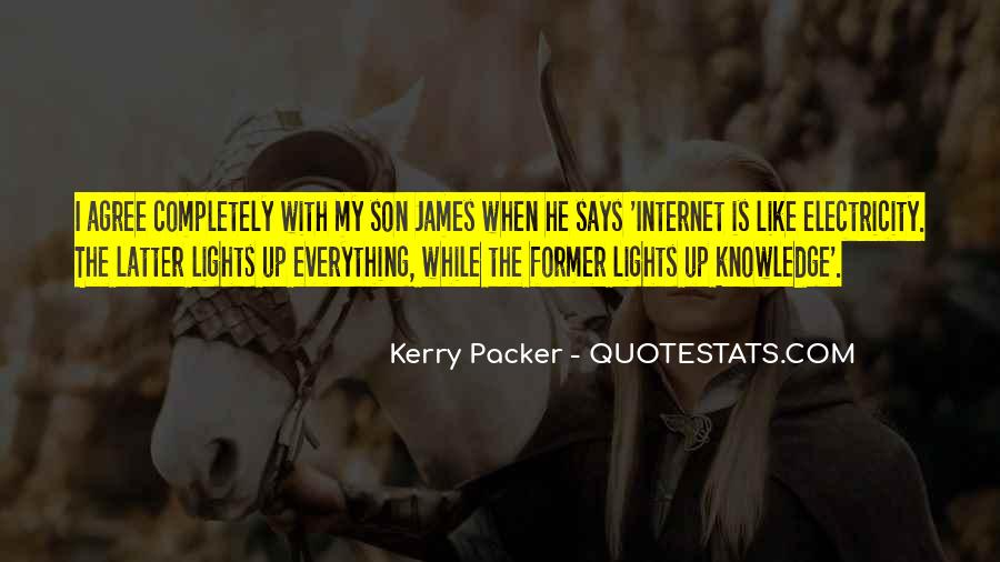Kerry Packer Quotes #125922