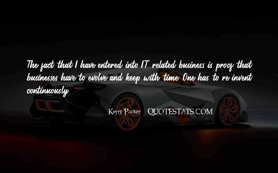 Kerry Packer Quotes #1479093