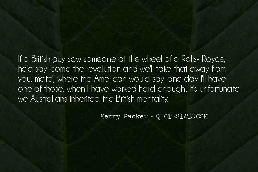 Kerry Packer Quotes #658213