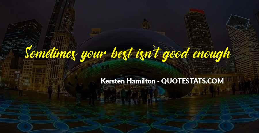 Kersten Hamilton Quotes #1757409