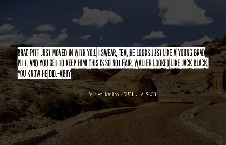 Kersten Hamilton Quotes #190168