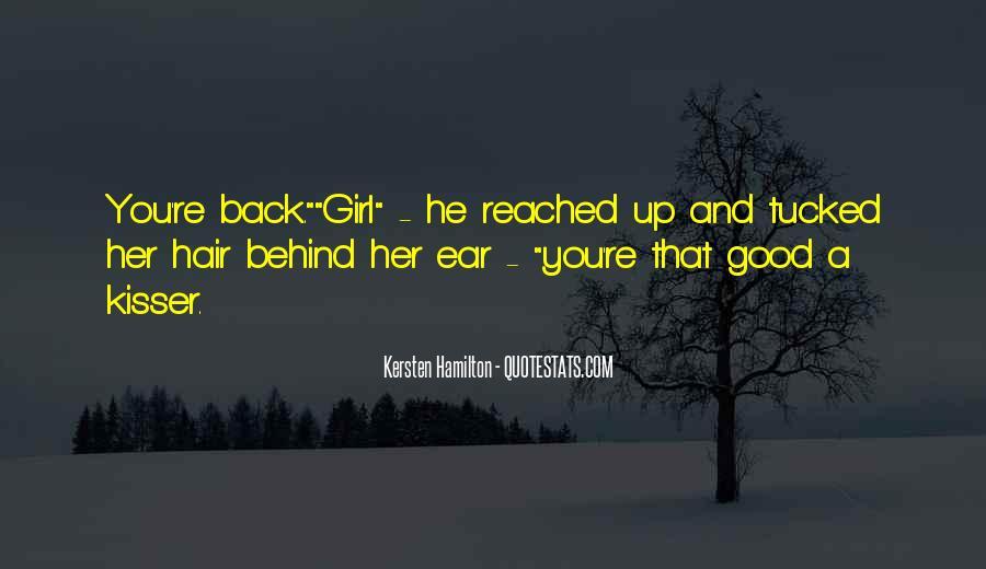 Kersten Hamilton Quotes #520615