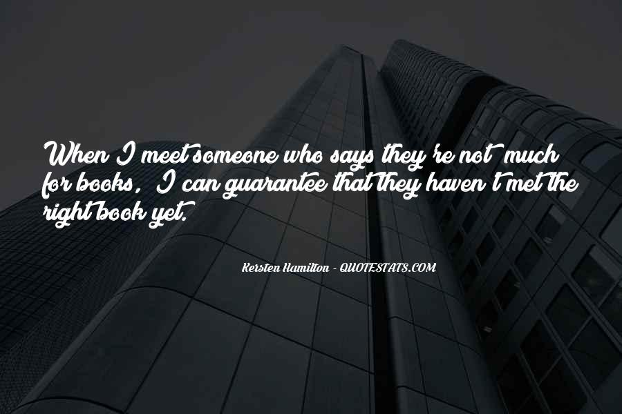 Kersten Hamilton Quotes #856756