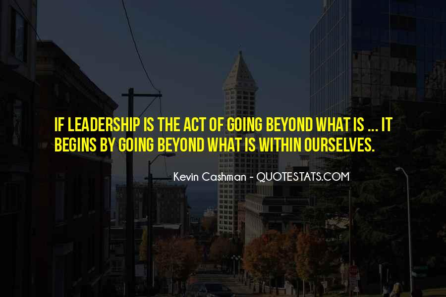 Kevin Cashman Quotes #315760