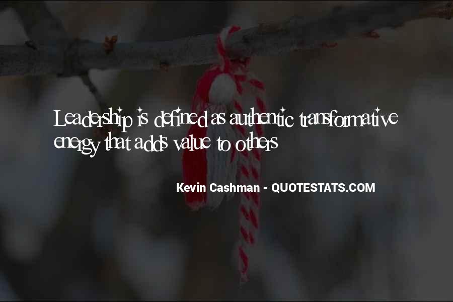 Kevin Cashman Quotes #345425
