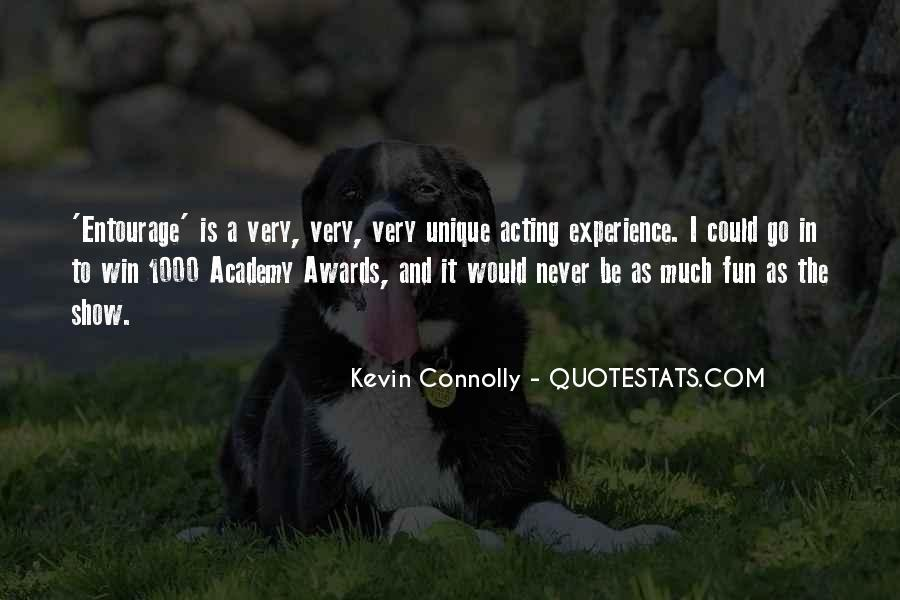 Kevin Connolly Quotes #1320296