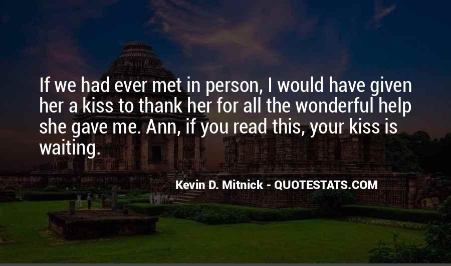 Kevin D. Mitnick Quotes #1662953