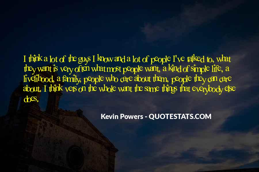 Kevin Powers Quotes #593165