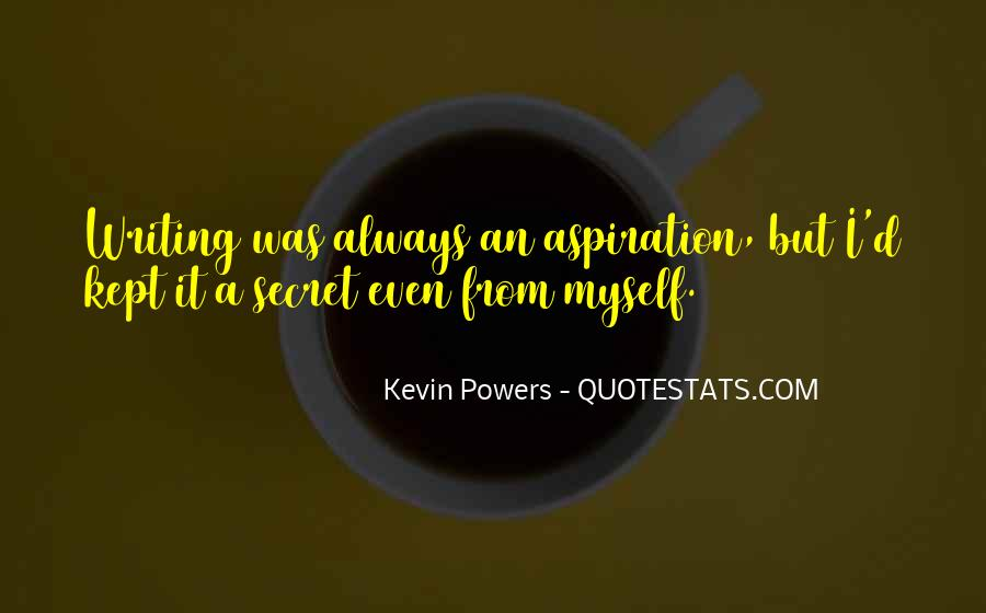 Kevin Powers Quotes #642239