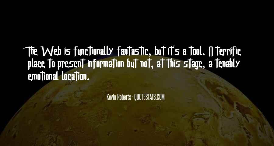 Kevin Roberts Quotes #788201