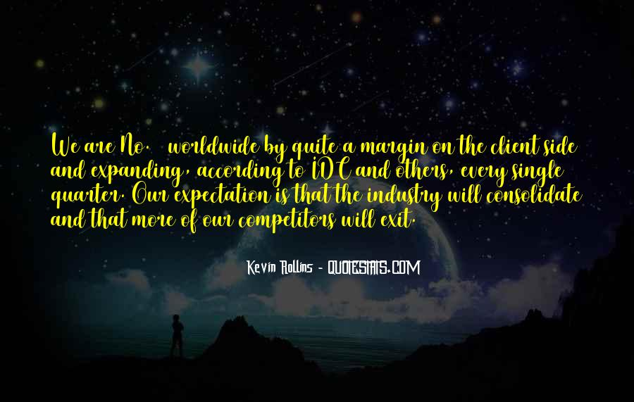 Kevin Rollins Quotes #799363