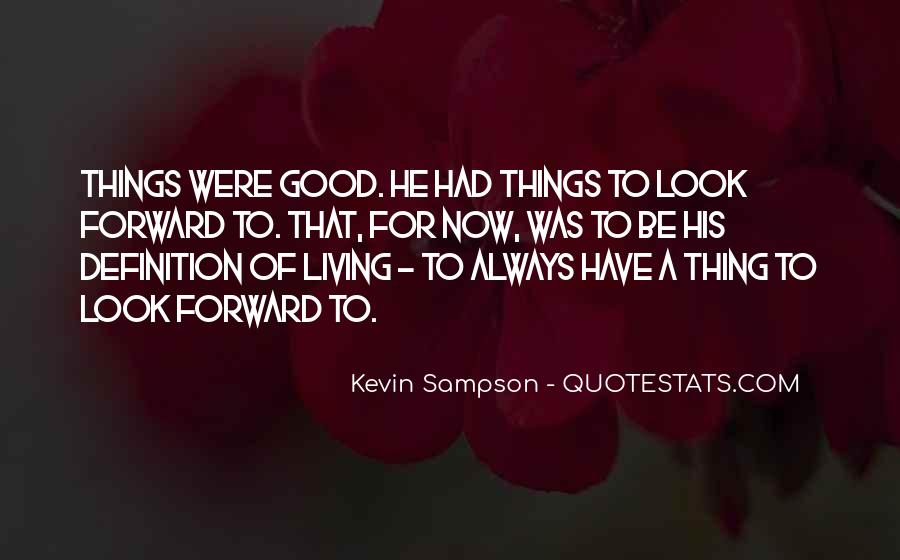 Kevin Sampson Quotes #1043653