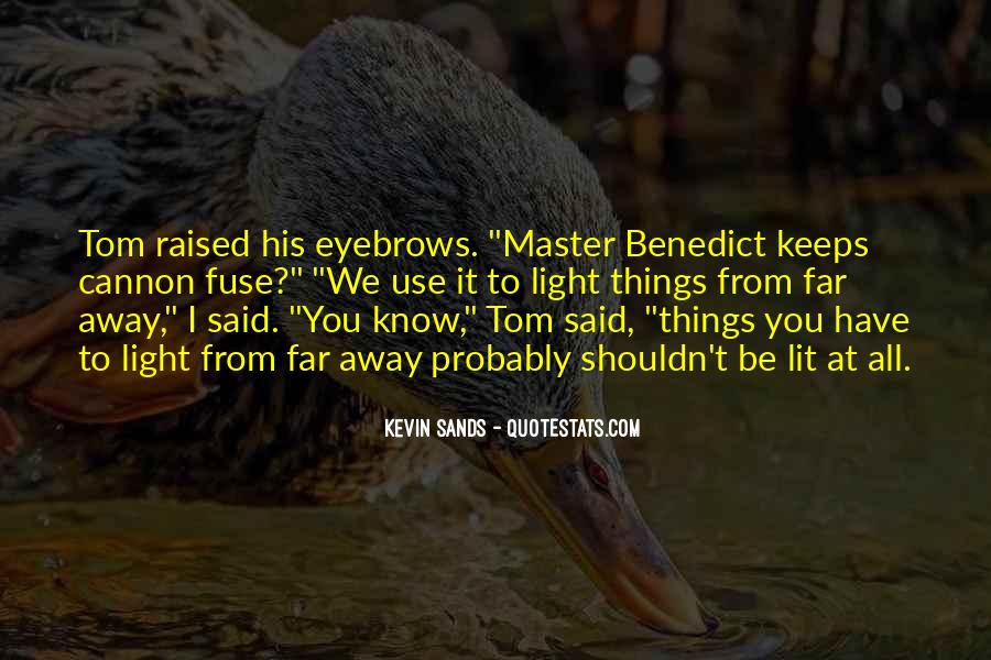 Kevin Sands Quotes #240835