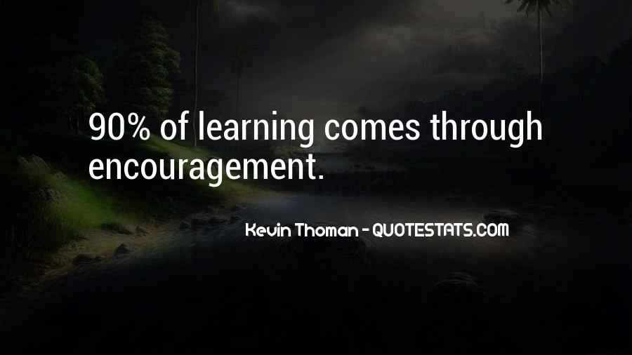 Kevin Thoman Quotes #466554