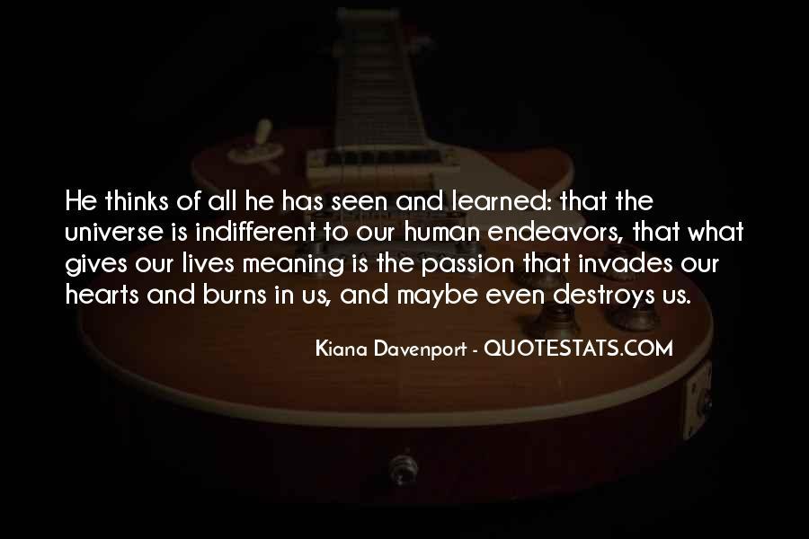 Kiana Davenport Quotes #811192