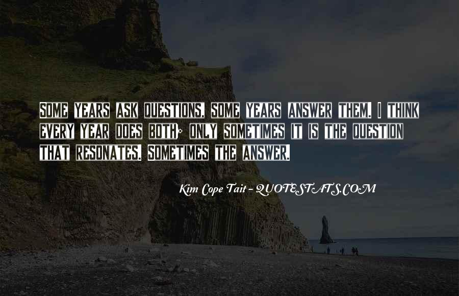 Kim Cope Tait Quotes #895346