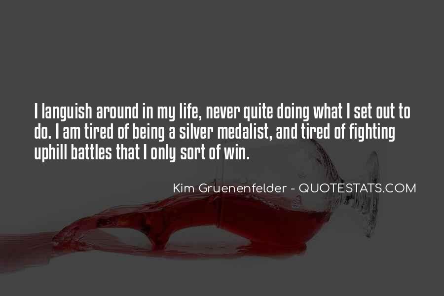 Kim Gruenenfelder Quotes #1007425