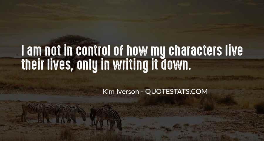 Kim Iverson Quotes #131548