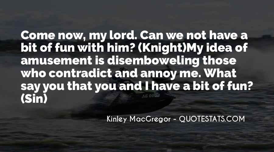 Kinley MacGregor Quotes #1069554