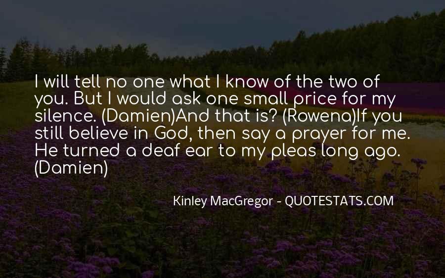 Kinley MacGregor Quotes #1150356