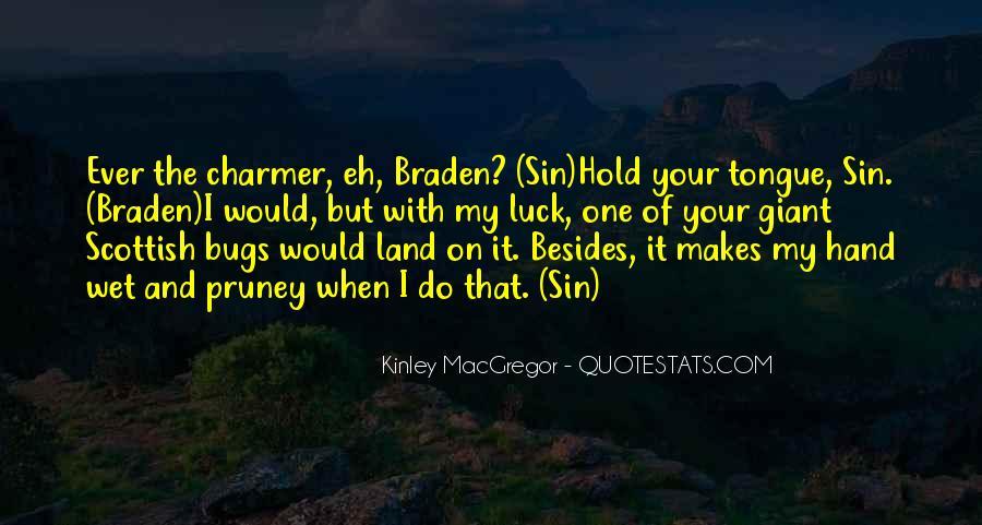 Kinley MacGregor Quotes #1470159