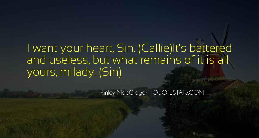 Kinley MacGregor Quotes #1474043